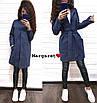 Женский модный кардиган с карманами из люрекса, фото 3