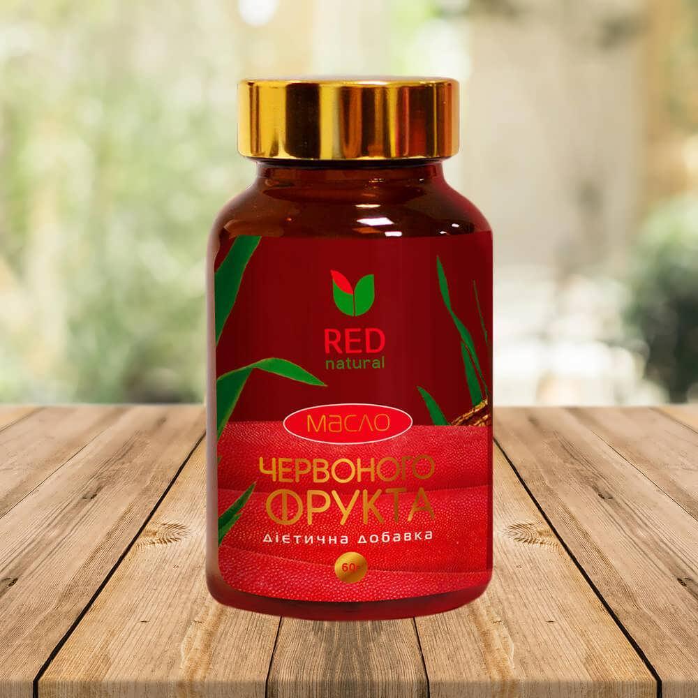 Диетическая добавка масло красного фрукта в капсулах №60