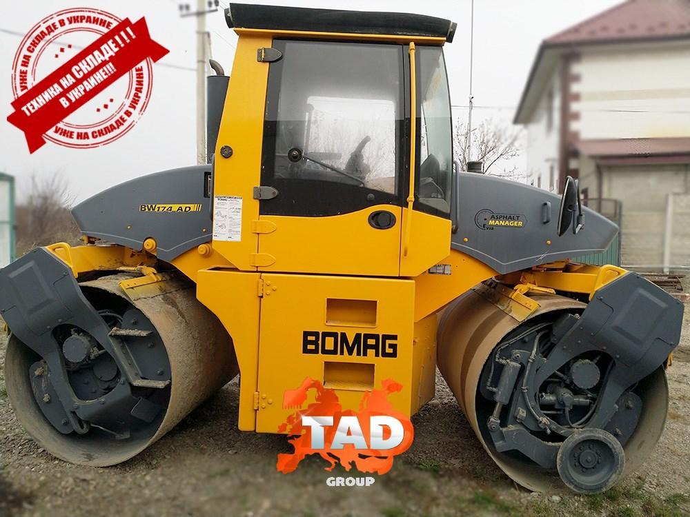 Дорожный каток Bomag BW 174 AP AM (2008 г)