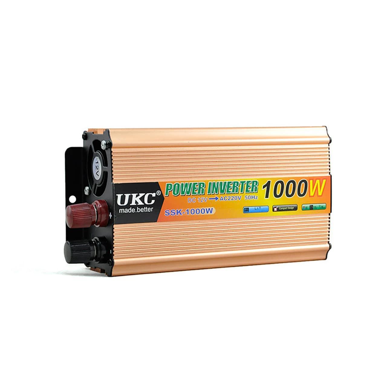 Преобразователь напряжения 24V-220V 1000W UKC