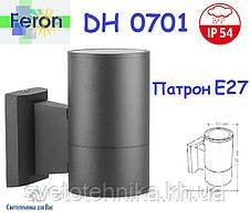 Светильник бра Feron DH0701 серый Е27 IP54