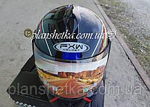 Шоломи для мотоциклів Hel-Met 150 чорний з синім, фото 2