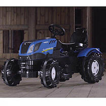 Трактор на педалях New Holland Rolly Toys FarmTrac 601295, фото 2