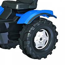 Трактор на педалях New Holland Rolly Toys FarmTrac 601295, фото 3
