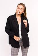 Классический женский пиджак M collection - черный цвет, L (есть размеры), фото 1
