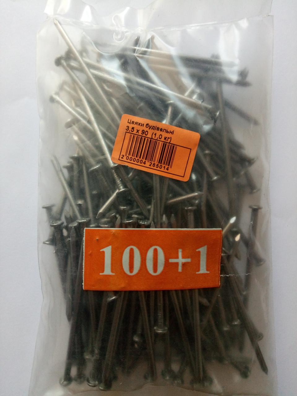 Гвозди строительные шлифованные 6,0*200 фасованные (1кг)