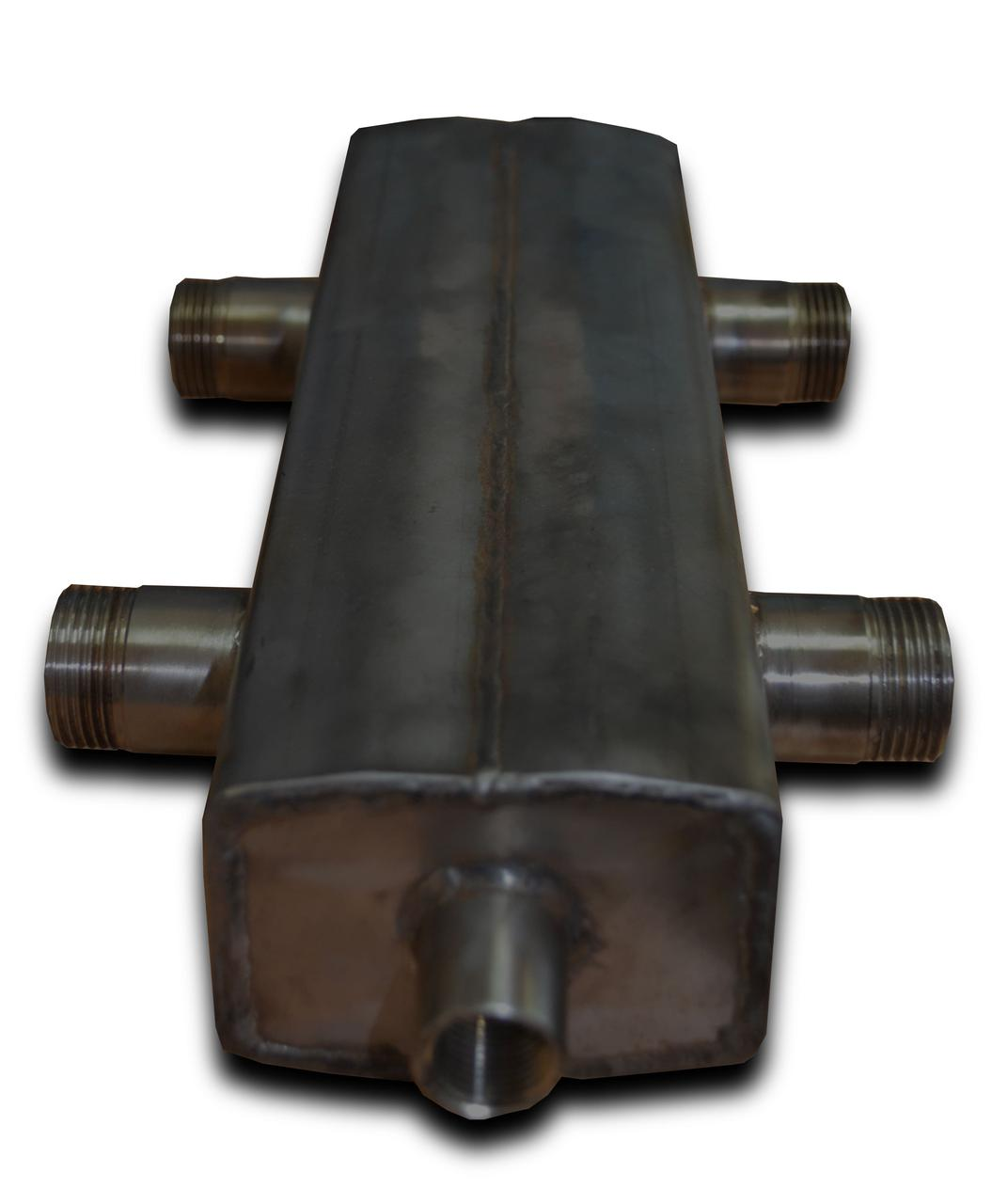 Гидрострелка (гидравлический разделитель) ГС-100 (квадрат) черная сталь