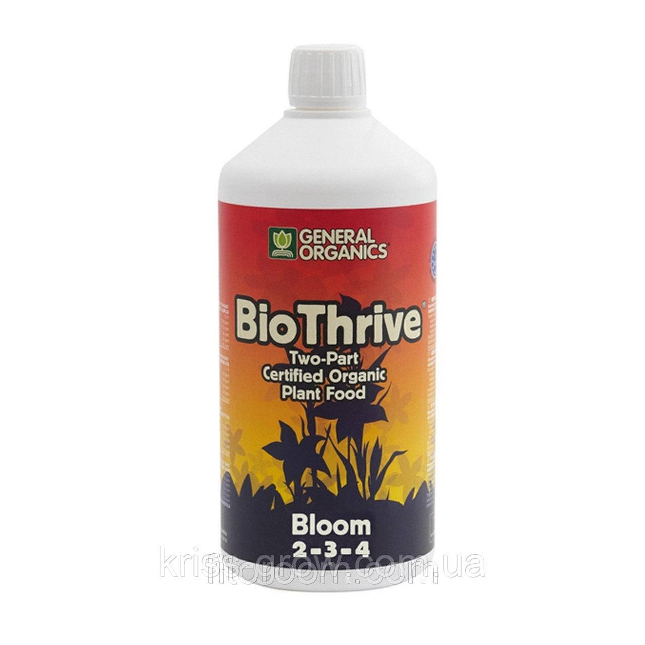 Органическое удобрение GHE BioThrive Bloom 1L