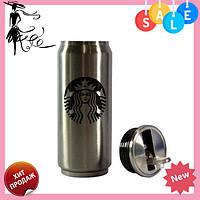 Термокружка для горячих и холодных напитков Starbucks PTKL-360 | термо чашка металлическая 330 ml, фото 1