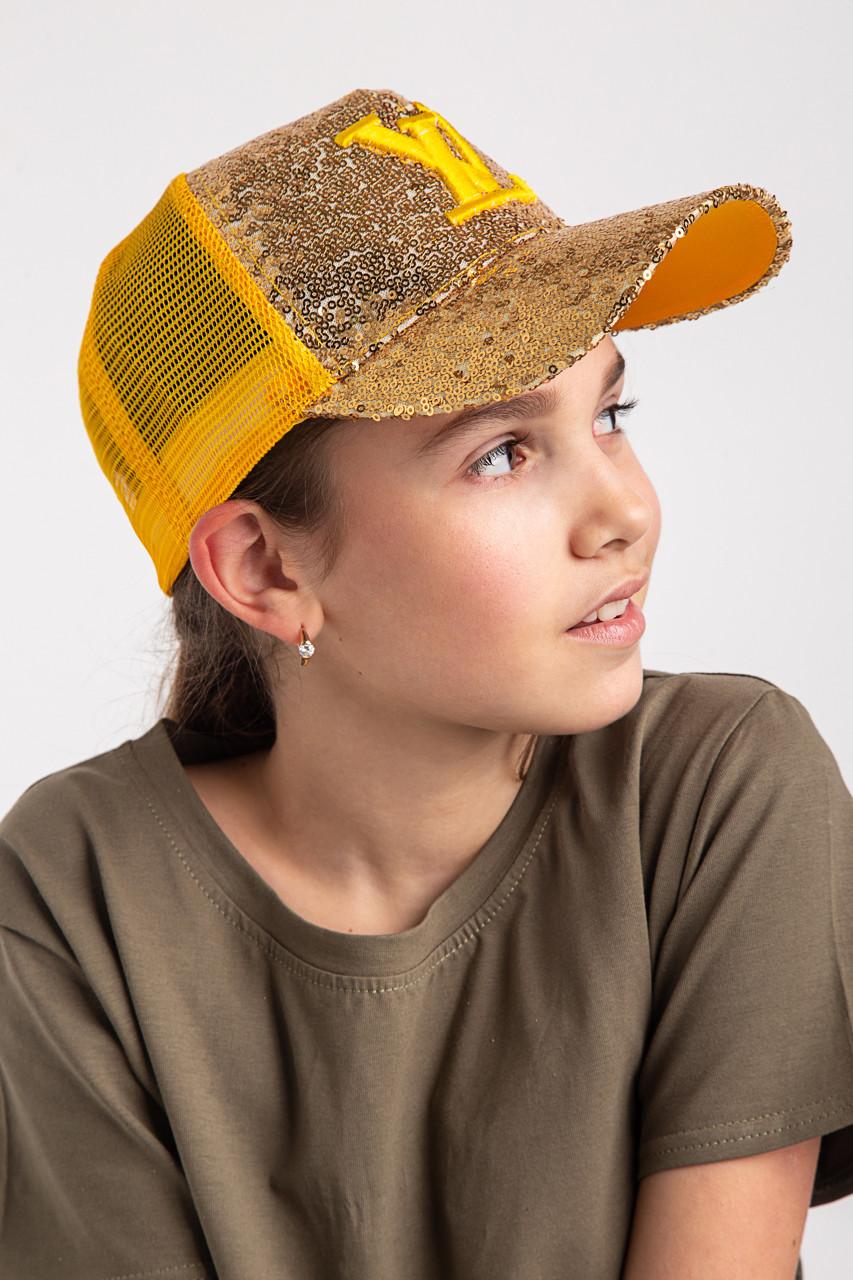Легкая летняя кепка для девочки -  Louis Vuitton(к31)