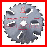 D450 d50 z24+6 диск АКУЛА с подрезными ножами по дереву