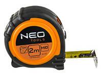 Neo Рулетка, стальная лента 5 м x 25 мм,  магнит 67-115