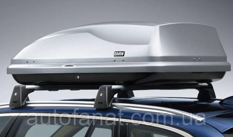 Оригинальный багажный бокс 350 литров серый BMW X1 (F48) (82730391366)