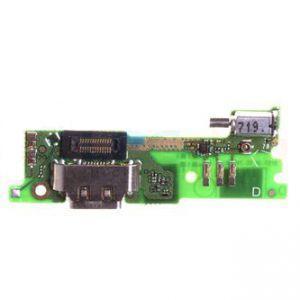 Плата зарядки для Sony G3112 Xperia XA1 Dual с разъемом зарядки с микрофоном с виброзвонком