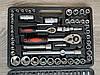 Набор ключей головок инструментов LEX 108 ел набір ключів для авто дома автоинструмент, фото 3