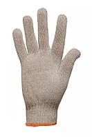 Перчатки трикотажные ХБ/ПЭ, без ПВХ точек 6 нитей