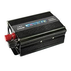 Автоинвертор 12v-220v 300W UKC