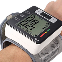 Автоматический тонометр UKC BLPM 29 Элетронный измеритель давления пульса компактный недорого доступный удобно