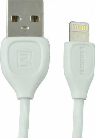 Кабель REMAX LESU Lighting for Iphone 5/5s/6/6s/SE/7/8 Original RC-050i белый, фото 2