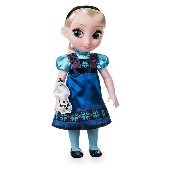 Эльза Холодное сердце кукла аниматор 40см DISNEY Frozen