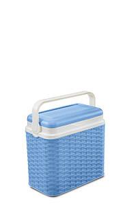 Термобокс ратанговый 10л Adriatic  синий