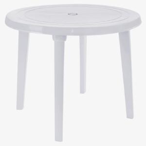 Стол круглый д.90 см Алеана  белый