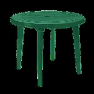 Стол круглый д.90 см Алеана  зеленый