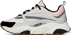 Женские кроссовки Dior B22 Pink/White 3SN231YKB H069