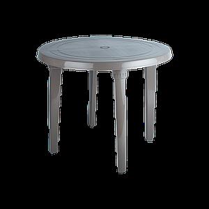 Стол круглый д.90 см Алеана  капучино