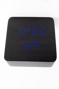 Настольные часы VST-872-5 с синей подсветкой