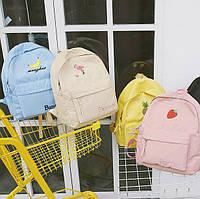 Нейлоновый рюкзак с ярким принтом
