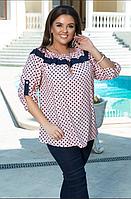 Костюм брючный с удлиненной блузкой, с 50-60 размер, фото 1