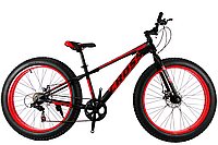 "Велосипед Cross Tank 26"" - red Fatbike"