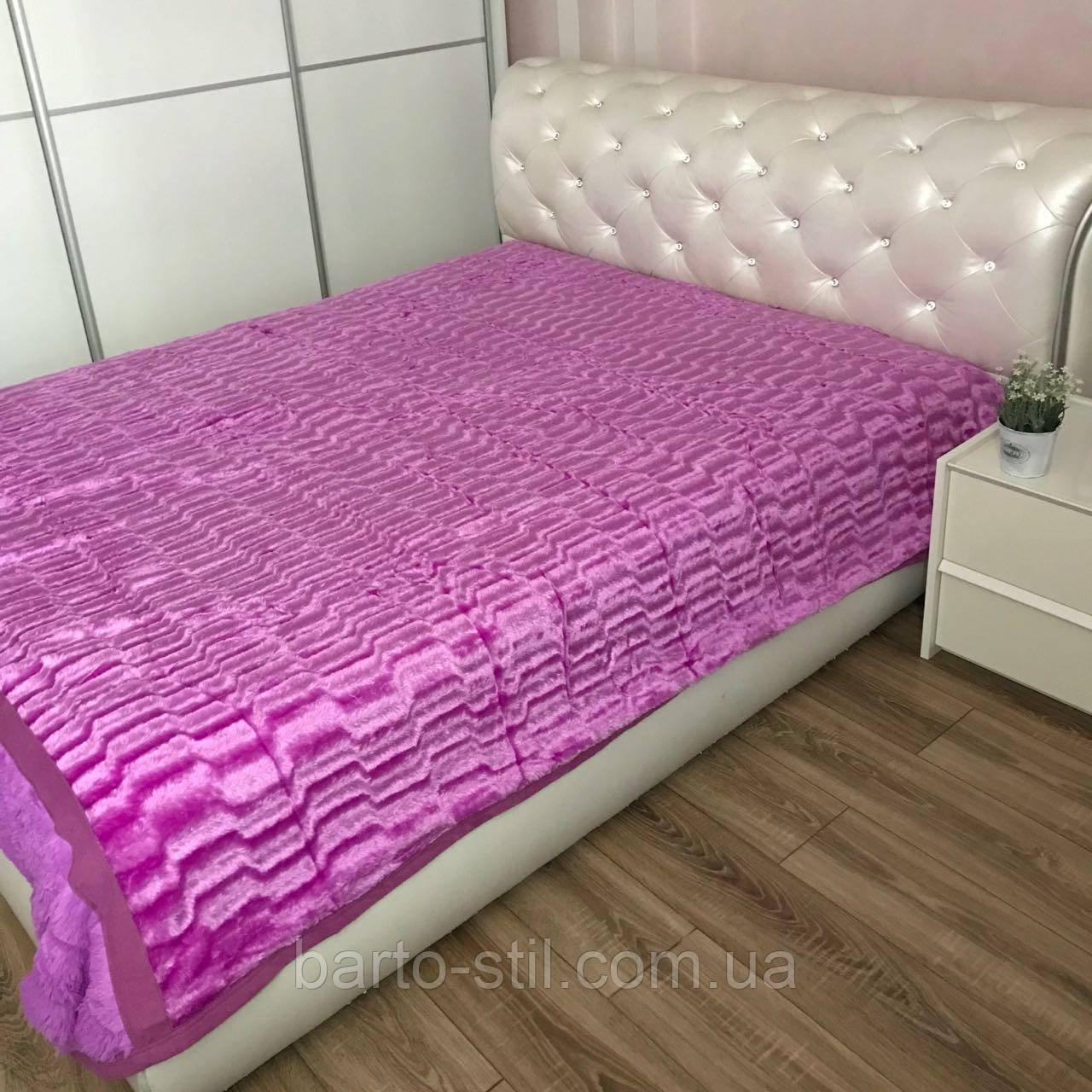 """Покрывало на кровать размер 200Х230 """"Норка"""" В наличии много цветов"""