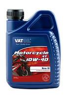 Мотоциклетное полусинтетическое моторное масло для 4-х тактных двигателей VatOil MOTORCYCLE 4T 10W-40 (1л)