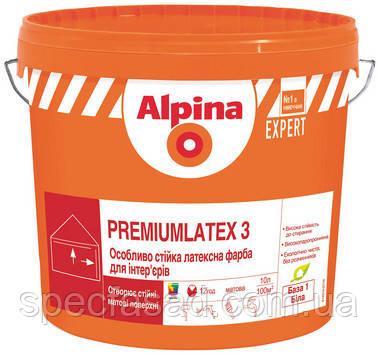 Краска Латексная Alpina EXPERT Premiumlatex 3 E.L.F. (База B1) 10л