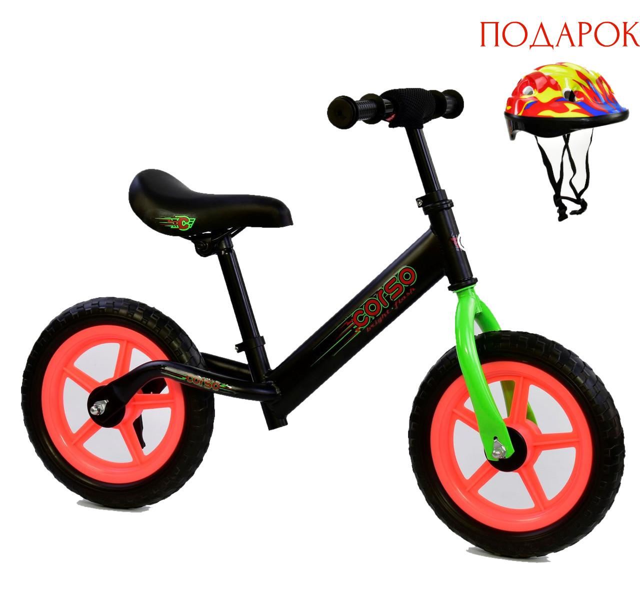 Велобег детский КОРСО Беговел CORSO Велокат Corso