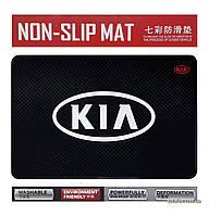 Антискользящий коврик в машину Anti-Slip Pad KIA Black