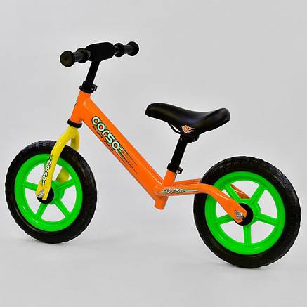 Велобег детский КОРСО Беговел CORSO Велокат Corso, фото 2