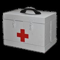 Саквояж алюминиевый для автомобилей скорой помощи смсп-01 медицинский