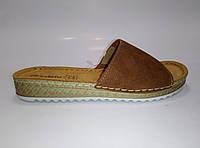 Женские летние кожаные шлепанцы ТМ Inblu, фото 1