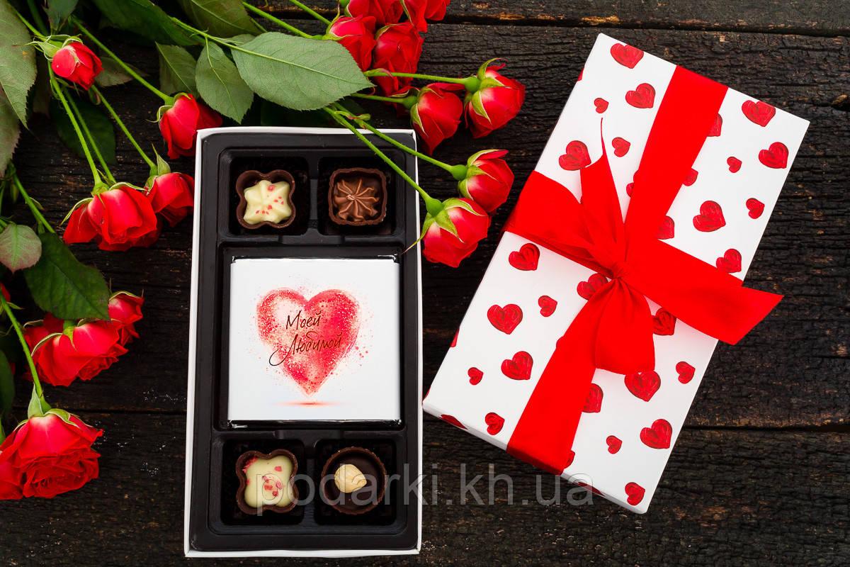 Набор шоколадных конфет для жены