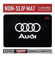 Антискользящий коврик на торпедо в машину Anti-Slip Pad AUDI Black