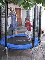 Дитячий батут FUNFIT 183 см з сіткою