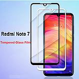 Захисне скло Glasscover загартоване 9D для Xiaomi Redmi Note 7 / PRO / Є чохли /, фото 8