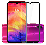Захисне скло Glasscover загартоване 9D для Xiaomi Redmi Note 7 / PRO / Є чохли /, фото 7
