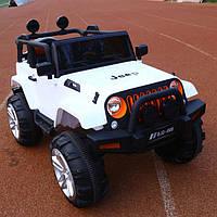 Детский электромобиль Джип Tilly T-7822 Jeep Wrangler, белый