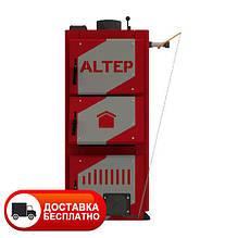 Твердотопливный котел длительного горения Альтеп CLASSIC 12 кВт (механика)