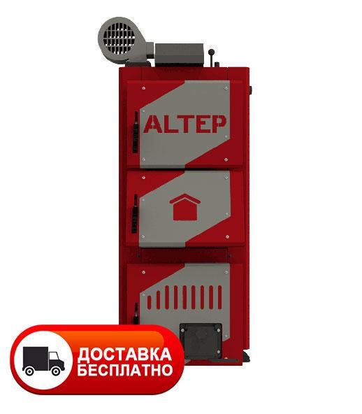 Твердопаливний котел тривалого горіння Альтеп CLASSIC PLUS 12 кВт (автоматика)