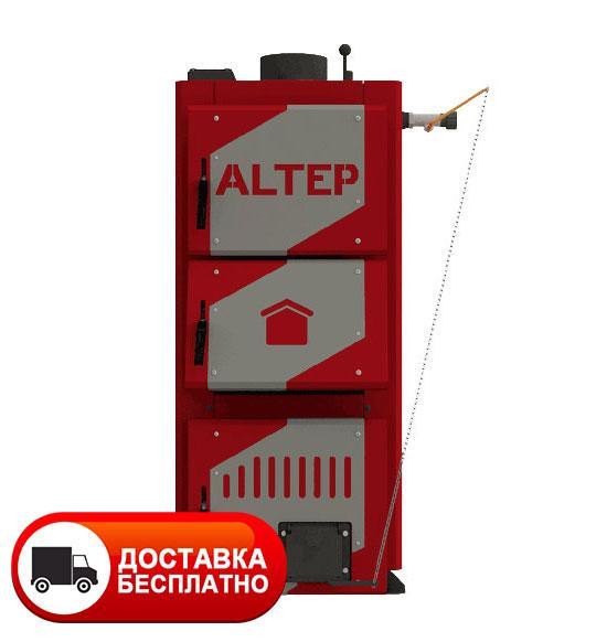 Твердотопливный котел длительного горения Альтеп CLASSIC 16 кВт (механика)